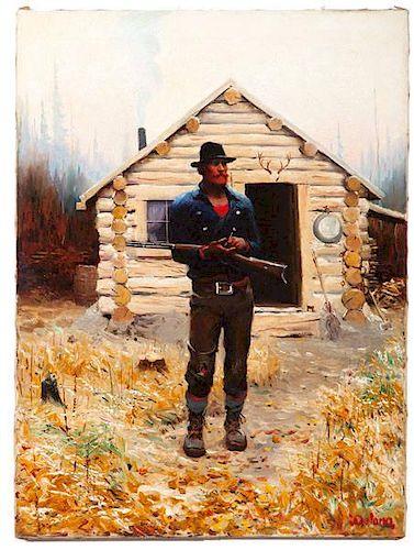 Gerard Curtis Delano (American, 1890-1972) Oil on Canvas
