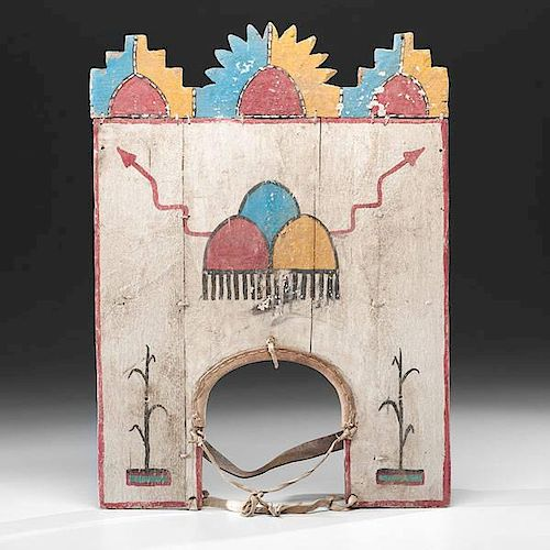 Pueblo Polychrome Tableta from the Forrest Fenn Collection