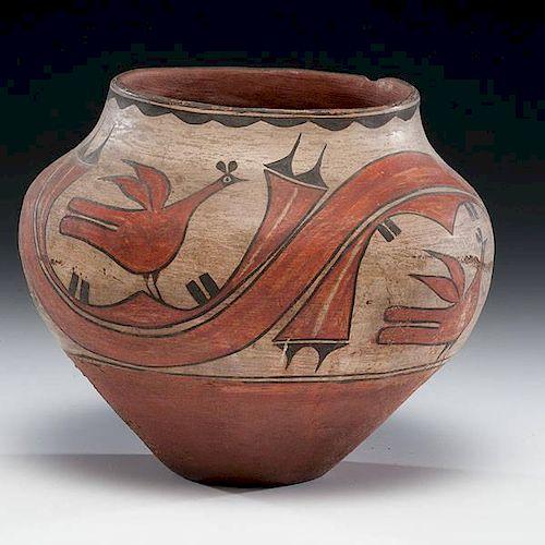 Zia Pottery Jar