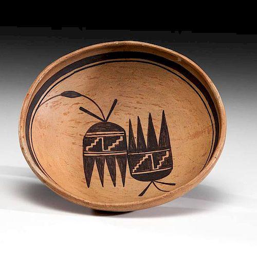 Nampeyo of Hano (Hopi, 1860-1942) Attributed Pottery Bowl
