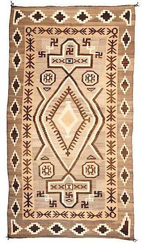 Navajo J.B. Moore Crystal Weaving / Rug