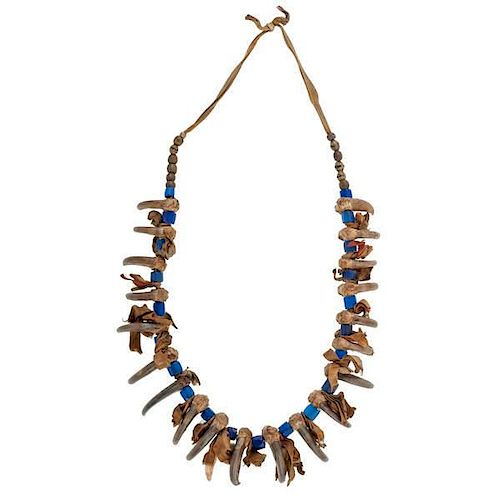 Plains Bear Claw Necklace