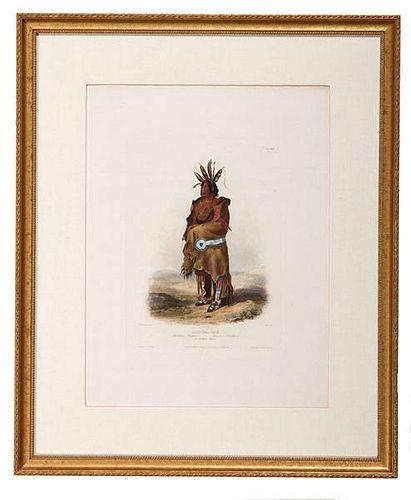 Karl Bodmer (Swiss, 1809-1893), Etching and Aquatint