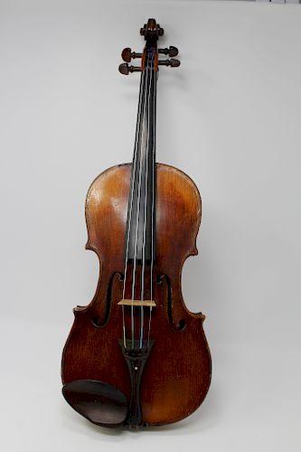 19th C. Mennegand Violin, Paris