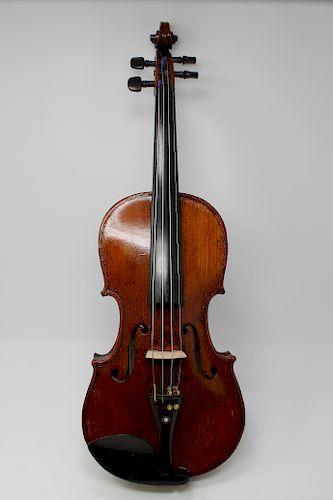 "Milanese Violin, Labeled ""Carlo Giuseppe Testore"""