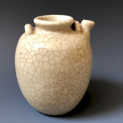 A CHINESE OLD GEYAO POT