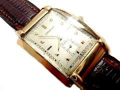 Estate Tiffany & Co/Movado 14k Fancy Lug Manual Watch