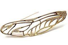 Tiffany & Co Angela Cummings 18k Yellow Gold Diamond Pin Brooch