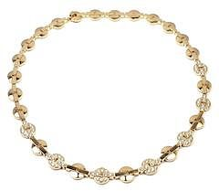 Cartier Himalia 18k Yellow Gold Diamond Necklace