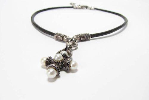 b5f324563 Scott Kay Sterling Cultured Pearl Pendant. Lot 474. Prev Lot · Next Lot ·  item Image