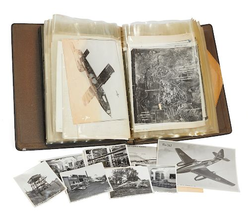 George W. Hayes Official U.S. Army Air Corps Binder With