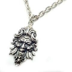"Buccellati Sterling Silver Poseidon 32"" Long Necklace"