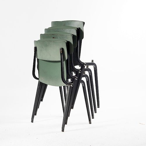 Friso Kramer, Four 'Revolt' - 'Theatre chairs', 1954