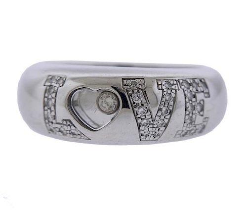 Chopard Love Happy Diamonds 18k Gold Ring