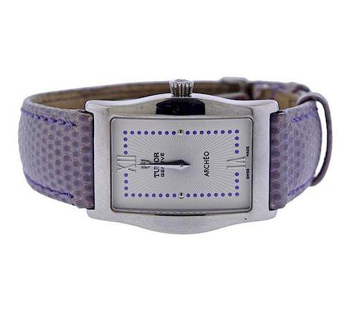 Tudor Archeo Stainless Steel Quartz Watch 30200