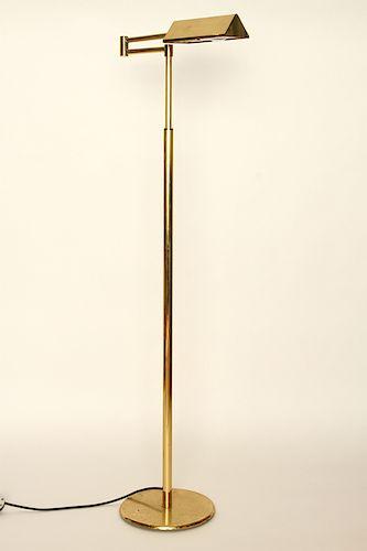 BRASS FLOOR LAMP CEDRIC HARTMAN ATTR.