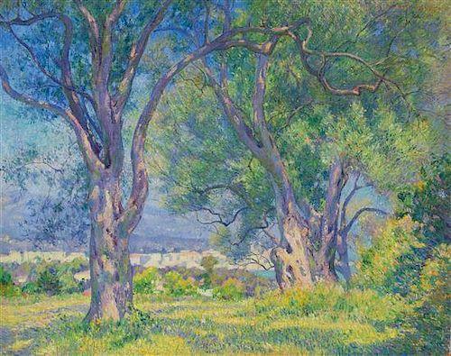 Abel Warshawsky, (American, 1883-1962), Untitled (Landscape)