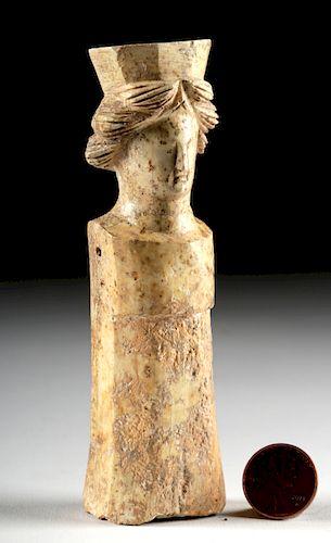 Roman Carved Bone Doll Figurine By Artemis Gallery 1299139 Bidsquare