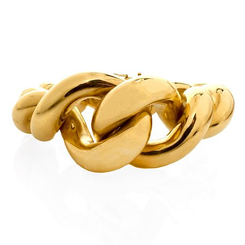 Tiffany & Co. 18K Gold Knot Bracelet