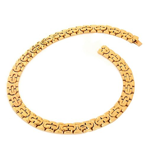 Vintage Cartier 18K Gold Link Necklace