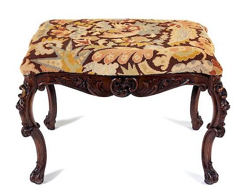 Remarkable A Rococo Style Carved Window Seat Height 20 X Width 27 1 2 X Onthecornerstone Fun Painted Chair Ideas Images Onthecornerstoneorg