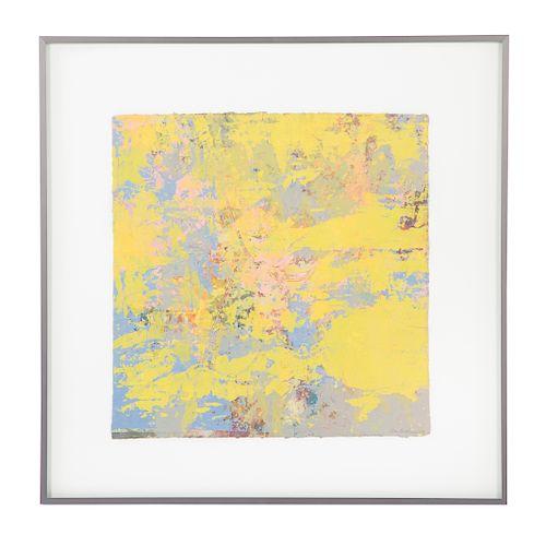 Sam Gilliam. Untitled, mixed media