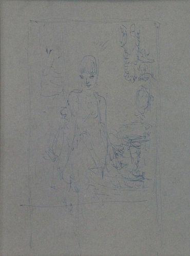 EVERETT SHINN (AMERICAN, 1876-1953).