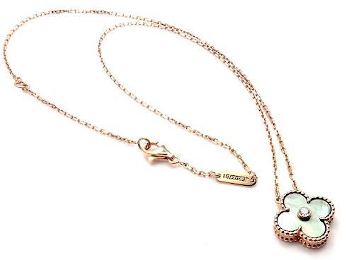 Van Cleef & Arpels Alhambra Diamond Grey Mother of