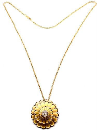 Carrera Y Carrera Afrodita 18k Gold Diamond  Necklace