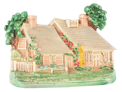 item Image  sc 1 st  Bidsquare & Cast Iron Cottage Hubley Doorstop. by Morphy Auctions - 1313802 ...