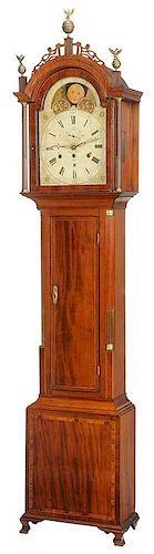 American Federal Simon Willard Tall Case Clock