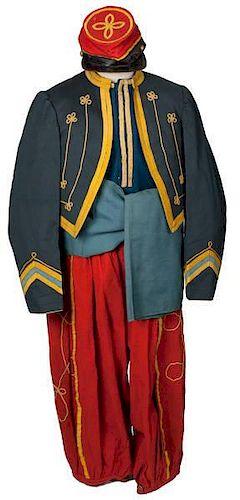 Cincinnati Zouave Guards Uniform 1860 - 1875