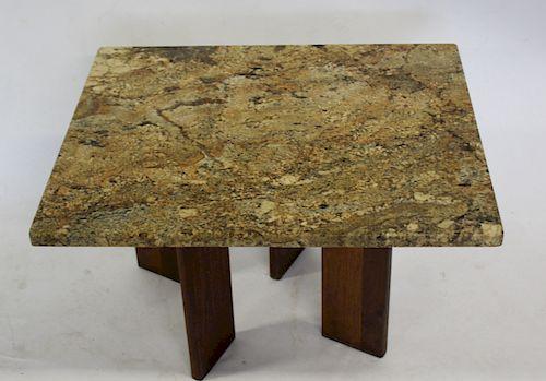 MIDCENTURY. Marbletop Coffee Table .