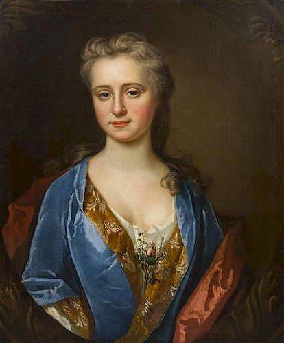 Continental School, (18th century), Portrait of a Lady