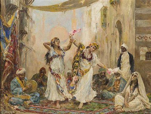 Fabio Fabbi, (Italian, 1861-1946), Oriental Dancers
