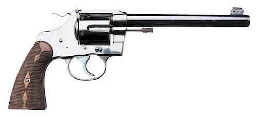 Colt New Service Flat-Top Target Model Revolver