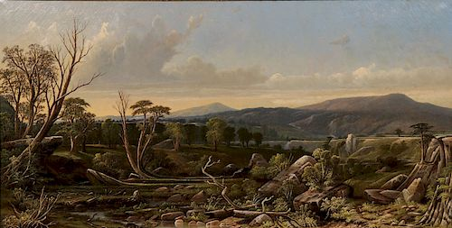 GREAT HUDSON RIVER SCHOOL PAINTING