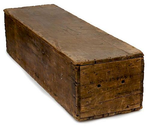 Model 1842 Musket Shipping Crate