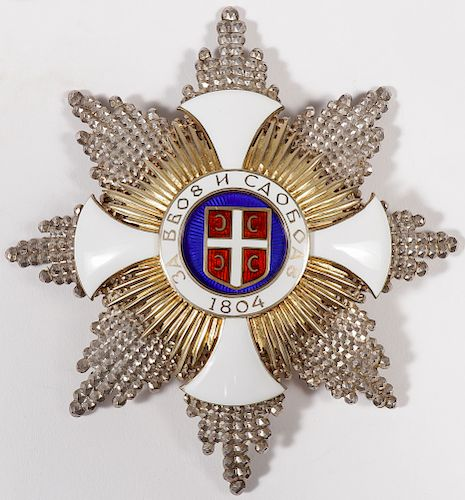 SERBIAN ORDER OF THE STAR OF KARAGEORGE
