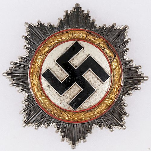 A GOOD WWII GERMAN CROSS IN GOLD BY KLEIN