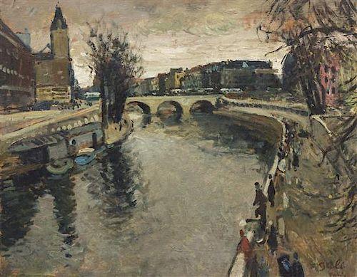 Francois Gall, (French, 1912-1987), La Seine