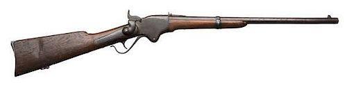 Civil War Model Spencer Lever-Action Repeating Saddle Ring Carbine