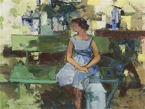 Michel Rodde, (France, 1913-2009), Jardin