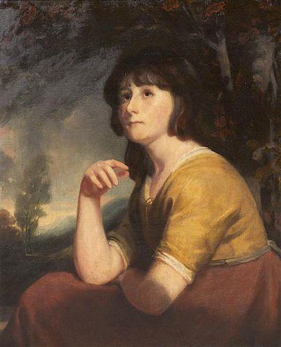 John Opie, (British, 1761-1807), Portrait of a Girl, Said to be Lady Bathurst