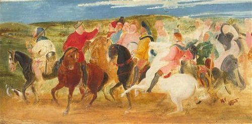 After Thomas Stothard, R.A., (British, 1755-1834), A Pilgrimage to Canterbury