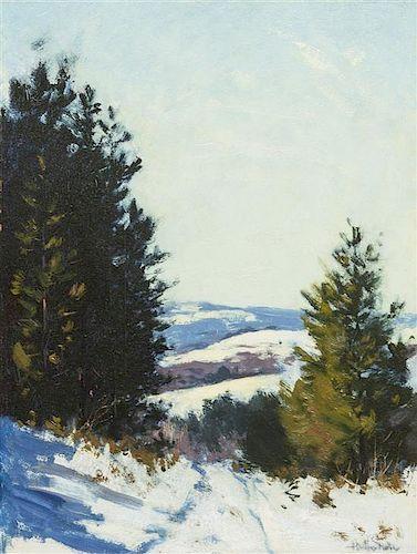 Hermann Dudley Murphy, (American, 1867-1945), Winter Landscape