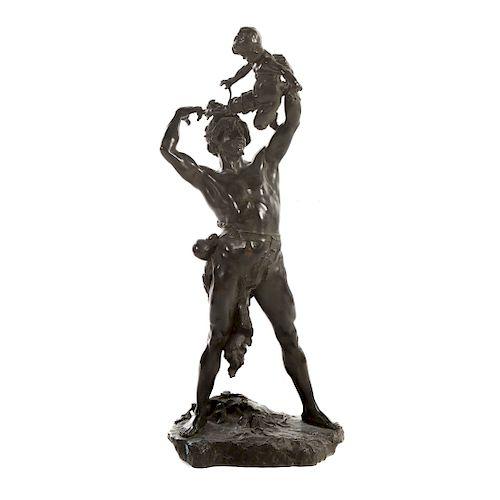 Clement Leopold Steiner. Bacchus, Bronze