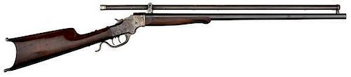 Stevens First Model 44 Rifle with Malcom Scope