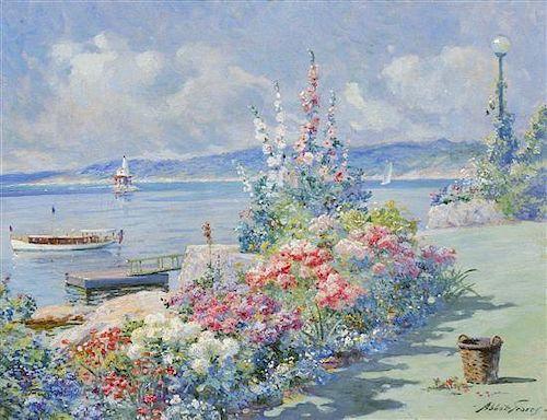 Abbott Fuller Graves, (American, 1859-1936), Garden House, Gloucester