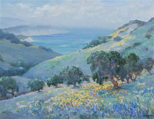 Frank Montague Moore, (American, 1877-1967), Impressionist Landscape